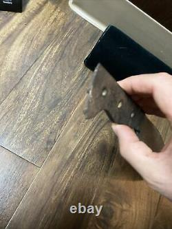 1800s antique jungle machete heavy steel victorian era blade Bolo Trade Knife