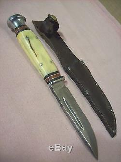 1930'sCASE TESTED XXCODYSPORTSMANS HUNTING KNIFE withORIG. SHEATHVERY SHARP