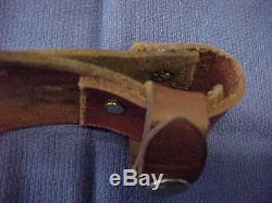 1962-82 VINTAGE R. H. RUANA M STAMP 14B SKINNER HUNTING KNIFE MONTANA