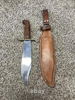 1968-72 WESTERN U. S. A. W49BOWIE FIGHTING KNIFE withORIG. SHEATH