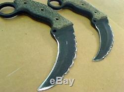 2 Busse War Boar Karambit Knives (jpa003335)