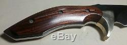 2009 Buck 408 Kalinga Pro Hunting Knife S30V Rosewood