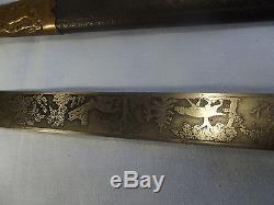 3. Nice German imperial hunting dagger knife sword scabbard WEYERSBERG SOLINGEN