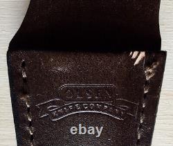 4 OLSEN Knife & Sheath Hunting Made in USA
