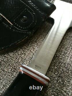 4 Vintage Buck Knives Buck 106 Hatchet 67-72, 119 Knife, 105 Knife, 107 Knife