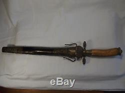 7. Old German hunting dagger knife sword sword with scabbard