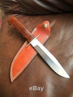 A. G. Russell MORSETH Bowie Knife 1996 Original M6 Sheath