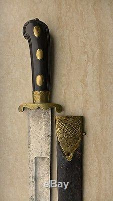 ANTIQUE EUROPEAN FRENCH HUNTING SWORD DAGGER KNIFE NAPOLEON