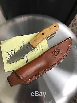 Alan Wood Pioneer Bushcraft Knife (Maker Of Ray Mears Woodlore Knife)
