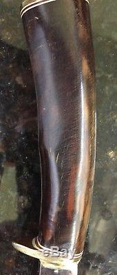 Alaska Custom Hand Made Irvin Campbell Irbi Hunting Fighting Knife