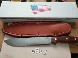 American Knife Company Denali 8.5 Fixed Blade Knife Natural Canvas Micarta