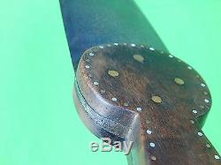 Antique Vintage Old Native American Indian Large Hunting Fighting Knife