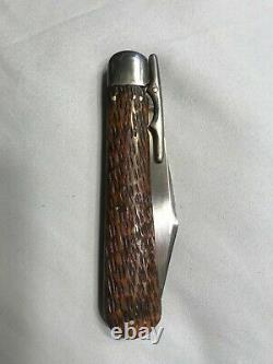 Antique collecteble schrade walden knife