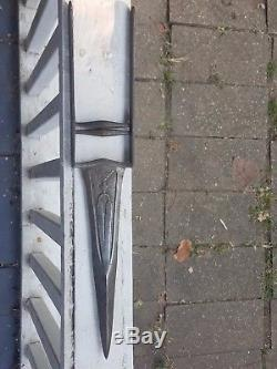 Antique hunting dagger tiger knife WOOTZ steel khanjar katar mughal NO RESERVE