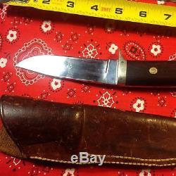 Authentic BOB RW LOVELESS HUNTING KNIFE SHEATH AUTOGRAPHED CATALOG blank