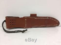 BARK RIVER KNIVES BRAVO 2 (A-2) WithGREEN CANVAS MICARTA HANDLE & LEATHER SHEATH