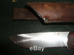 BENCHMADE 15001-2. Saddle Mountain Skinner Fixed Blade Hunting Knife