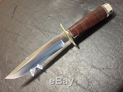 Blackjack Effingham Classic Blades Model #1-7 Fighting & Hunting Knife & Sheath