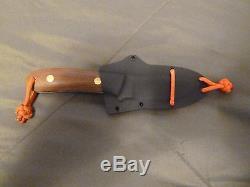 Bob Dozier Arkansas D2 Fixed Blade King's River Semi-skinner Hunting Knife