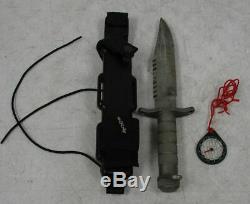 BUCK 184 Buckmaster Fixed Blade Survival Knife USA with Sheath