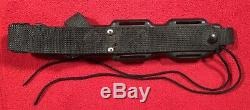 BUCK Buckmaster 184 Survival Knife USA PAT PEND with Compass and Original Sheath