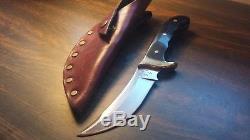 BUCK KALINGA Fixed Blade Hunting Knife & Original Leather Sheath