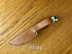 BUCK STAG 191 ZIPPER signed 178/500 chuck 2004 KNIFE NEVER USED IN BOX RARE