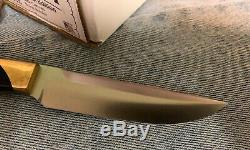 Bark River 2017 Special Edition BRKCA knife CPM3V Black Canvas Brass Bolsters