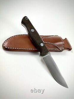 Bark River Knife and Tool Gunny Knife CPM 3V Green Micarta