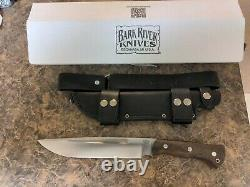 Bark River Knives Dark Timber Grizzly Green Micarta CPM3V Discontinued