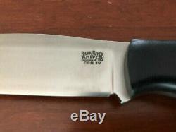 Bark River Knives Tundra 3V Black Canvas Micarta