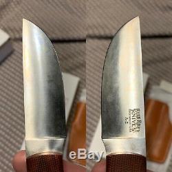 Bark River Knives Woodland Special, A-2, Micarta Scales
