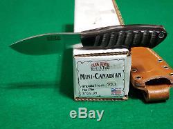 Bark River Mini-Canadian Impala Horn no pin Hunting Knife
