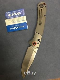 Benchmade 15080-1 Crooked River Folding Blade Hunting Knife CPM-S30V Axis Grey