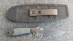 Benchmade 151SBK Fixed Griptilian Pardue 154CM Knife Discontinued Rare