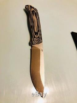 Benchmade HUNT Fixed Blade Skinning Knife S30V Blade & Kydex Sheath 15001-1