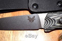 Benchmade HUNT Saddle Mountain Hunter Fixed Blade Knife CPM-S30V 15007-2