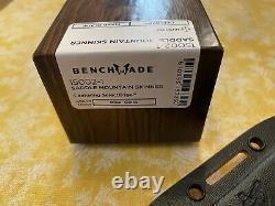 Benchmade Hunt 15002-1 Saddle Mountain Skinner Knife Richlite Handle S90v Blade