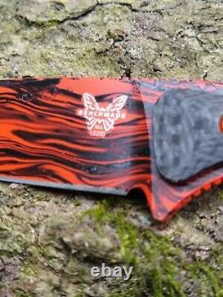 Benchmade Knife 15200-ORG Altitude Fixed Custom Paint Fixed Blade 3.08