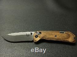 Benchmade North Fork Folding Hunting Knife S30V Dymondwood Handle