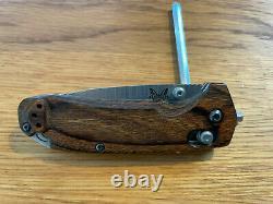 Benchmade North Fork Knife CPM-S30V Blade Dymondwood Handle 15031-2