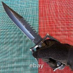 Black Buck BUCKMASTER 184 Survival Knife & Sheath