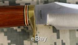 Blackjack Classic Stalker Fixed Blade Knife & Leather Sheath Vintage Effingham