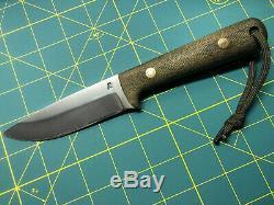 Blind Horse Knives Woodsman Pro Bushcraft Knife BHK LT Wright