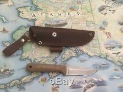 Blind Horse knife/ Pro woodsman/01 steel/natural micarta scales