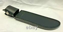 Buck 124 Frontiersman Fixed Blade Knife with Sheath Paperwork Box Hunting Survival