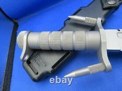 Buck 184 Buckmaster Survival Knife Spikes, Pommel Rare Early 1980's Extremelynice