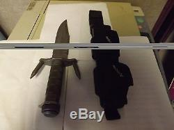 Buck 184 Hunting Knife (Simply Clean) w original hooks