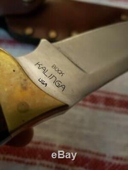 Buck Kalinga Hunting/skinning Knife Exellent