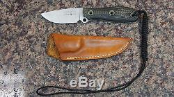 Busse Combat 3 Survival Fixed Knife withShealth